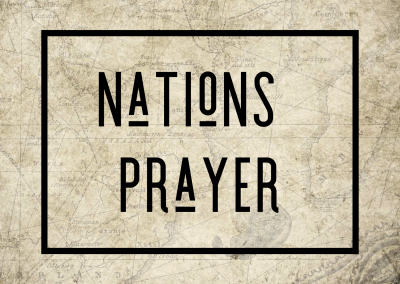 Nations Prayer