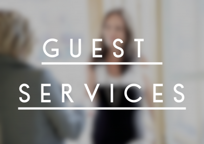 Guest Services Ministry