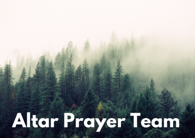 Altar Prayer Team