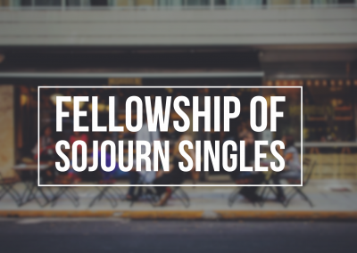 Fellowship of Sojourn Singles